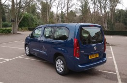 Vauxhall Combo Life XL, rear static