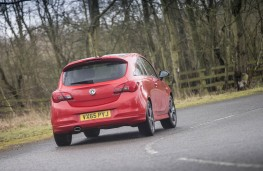 Vauxhall Corsa, rear action