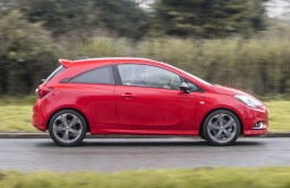 Vauxhall Corsa, side action