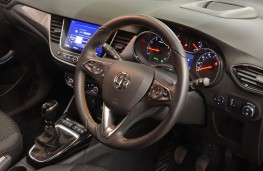 Vauxhall Crossland X, dashboard