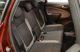 Vauxhall Crossland X, rear seats