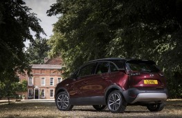 Vauxhall Crossland X, rear static