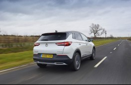 Vauxhall Grandland X, rear action