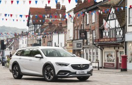 Vauxhall Insignia Country Tourer, in town