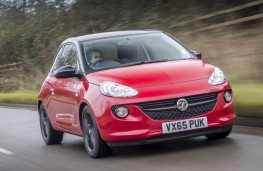 Vauxhall Adam Energised, front action