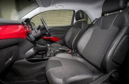 Vauxhall Adam Energised, front seats