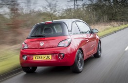 Vauxhall Adam Energised, rear action