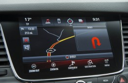Vauxhall Astra SRi, dash display