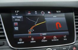 Vauxhall Astra SRi, dash display