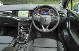Vauxhall Astra, dashboard