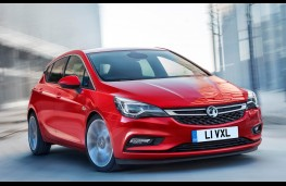 Vauxhall Astra, front action
