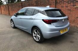 Vauxhall Astra, rear