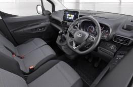 Vauxhall Combo, dashboard
