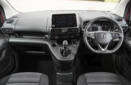 Vauxhall Combo Life, dashboard