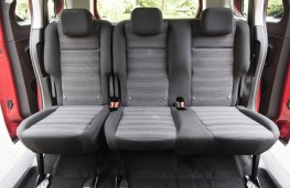 Vauxhall Combo Life, rear seats
