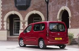 Vauxhall Combo Life, rear static