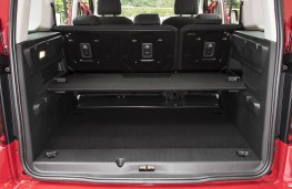 Vauxhall Combo Life - Boot, seats up