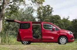 Vauxhall Combo Life - Doors open