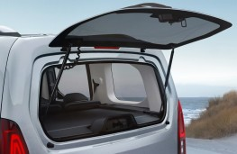 Vauxhall Combo Life - Opening tailgate window