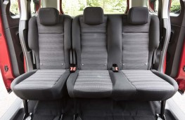 Vauxhall Combo Life - Second row seats
