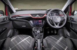 Vauxhall Corsa, dashboard