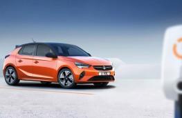 Vauxhall Corsa-e front threequarters