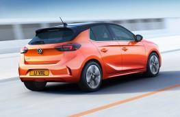 Vauxhall Corsa-e rear action