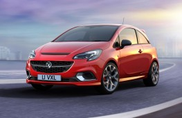 Vauxhall Corsa GSi 2018 front
