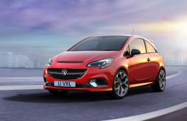Vauxhall Corsa GSi front