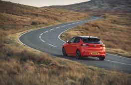 Vauxhall Corsa, rear