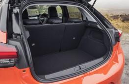 Vauxhall Corsa, boot
