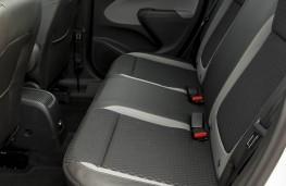 Vauxhall Crossland X, rear seat