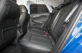 Vauxhall Grandland X, rear seats