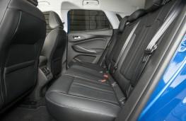 Vauxhall Grandland X, interior rear