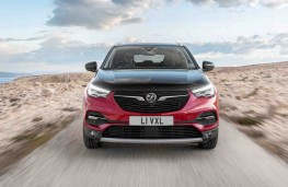 Vauxhall Grandland X Hybrid4 head on