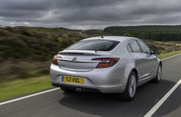 Vauxhall Insignia Hatchback, rear