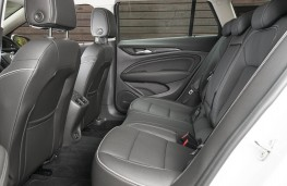 Vauxhall Insignia Country Tourer, rear seats