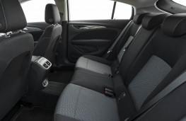 Vauxhall Insignia Grand Sport, rear seats