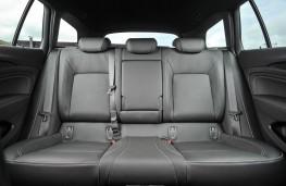 Vauxhall Insignia ST, rear seats