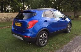 Vauxhall Mokka, rear