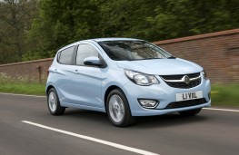 Vauxhall Viva, front action
