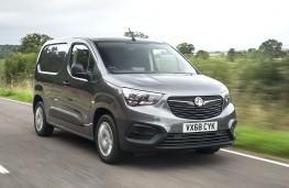 Vauxhall Vivaro 2019 front action