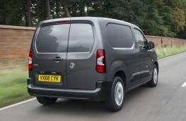 Vauxhall Vivaro 2019 rear action