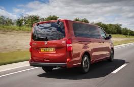 Vauxhall Vivaro Life, rear