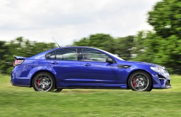 Vauxhall VXR8 GTS-R action profile