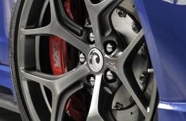 Vauxhall VXR8 GTS-R alloy wheel detail