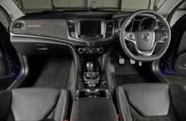 Vauxhall VXR8 GTS-R cockpit