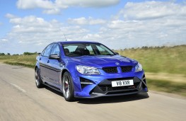 Vauxhall VXR8 GTS-R front threequarter action
