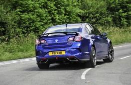 Vauxhall VXR8 GTS-R rear action