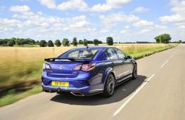 Vauxhall VXR8 GTS-R rear threequarter action